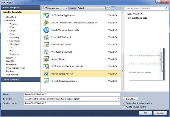 PowerShell ISE Add-On - Visual Studio Marketplace